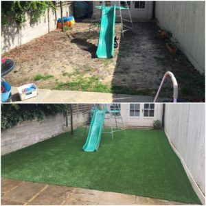Wimbledon Artificial Grass Installation