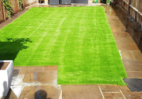 St James park plastic grass portfolio