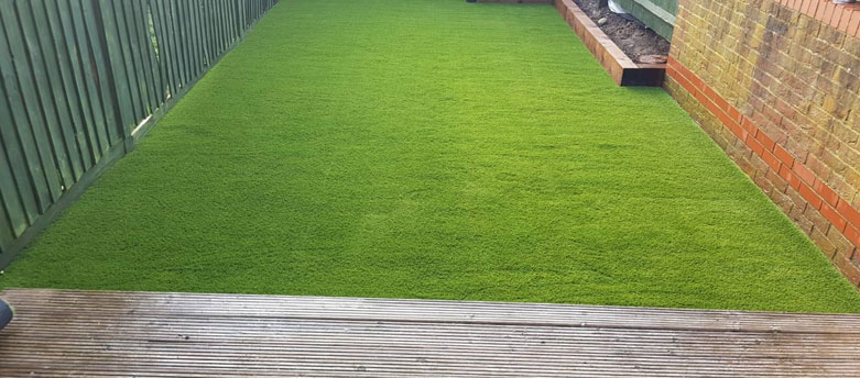 astro turf installation by AstroLondon in North London